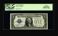 Small Size:Silver Certificates, Fr. 1602 $1 1928B Silver Certificate. PCGS Gem New 66PPQ.. ...
