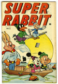 "Golden Age (1938-1955):Funny Animal, Super Rabbit #5 Davis Crippen (""D"" Copy) pedigree (Timely, 1945)Condition: VF/NM...."