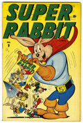"Golden Age (1938-1955):Funny Animal, Super Rabbit #9 Davis Crippen (""D"" Copy) pedigree (Timely, 1946)Condition: VF+...."