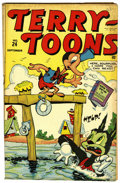 "Golden Age (1938-1955):Funny Animal, Terry-Toons Comics #24 Davis Crippen (""D"" Copy) pedigree (Timely,1944) Condition: FN/VF...."