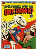 Golden Age (1938-1955):Horror, Adventures Into The Unknown #29 (ACG, 1952) Condition: FN....