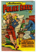 Golden Age (1938-1955):Crime, Authentic Police Cases #8 (St. John, 1950) Condition: FN-....