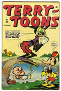 """Golden Age (1938-1955):Funny Animal, Terry-Toons Comics #28 Davis Crippen (""""D"""" Copy) pedigree (Timely,1945) Condition: VF...."""