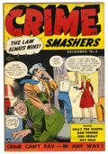 Golden Age (1938-1955):Crime, Crime Smashers #2 (Ribage Publishing, 1950) Condition: FN+....