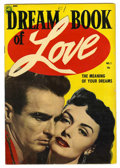 Golden Age (1938-1955):Romance, Dream Book of Love #1 (Magazine Enterprises, 1954) Condition:Apparent VG....