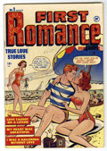 Golden Age (1938-1955):Romance, First Romance #1 (Harvey, 1949) Condition: VF....