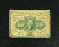 Fractional Currency:First Issue, Fr. 1241 10c First Issue Very Good....