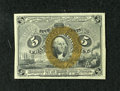 Fractional Currency:Second Issue, Fr. 1232 5c Second Issue About New....