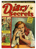 Golden Age (1938-1955):Romance, Diary Secrets #12 (St. John, 1952) Condition: FN....