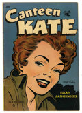 Golden Age (1938-1955):Romance, Canteen Kate #2 (St. John, 1952) Condition: FN....