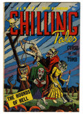 Golden Age (1938-1955):Horror, Chilling Tales #15 (Youthful Magazines, 1953) Condition: FN-....