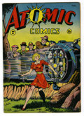 Golden Age (1938-1955):Miscellaneous, Atomic Comics #4 (Green Publishing Co., 1946) Condition: FN/VF....