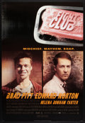 "Movie Posters:Action, Fight Club (20th Century Fox, 1999). One Sheet (27"" X 40"") DSAdvance Style A. Action.. ..."