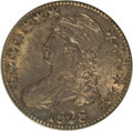 Bust Half Dollars: , 1828 50C Curl Base 2, No Knob AU58 NGC. NGC Census: (206/278). PCGSPopulation (90/146). Mintage: 3,075,200. Numismedia Wsl...