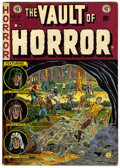 Golden Age (1938-1955):Horror, Vault of Horror #27 (EC, 1952) Condition: VF-....