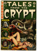 Golden Age (1938-1955):Science Fiction, Tales From the Crypt #32 (EC, 1952) Condition: FN....