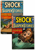 Golden Age (1938-1955):Horror, Shock SuspenStories #11 and 15 Group (EC, 1953-54).... (Total: 2 )