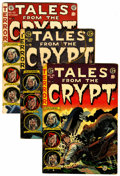 Golden Age (1938-1955):Horror, Tales From the Crypt #43-45 Group (EC, 1954-55).... (Total: 3 )