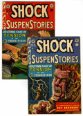 Golden Age (1938-1955):Horror, Shock SuspenStories #7 and 8 Group (EC, 1953).... (Total: 2 )