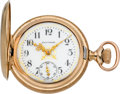 Timepieces:Pocket (post 1900), Waltham Mint Fancy Dial O Size Hunters Case, circa 1901. ...