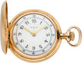 Timepieces:Pocket (post 1900), Elgin Gold O Size With Fancy Dial, circa 1902. ...
