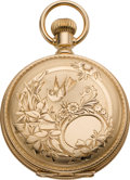 Timepieces:Pocket (pre 1900) , Illinois Mint Gold 6 Size Hunters Case, circa 1886. ...