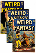 Golden Age (1938-1955):Science Fiction, Weird Fantasy Group (EC, 1952-53).... (Total: 4 )