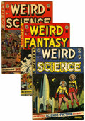 Golden Age (1938-1955):Horror, Weird Science Group (EC, 1951-54).... (Total: 6 )