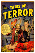 Golden Age (1938-1955):Horror, Tales of Terror #1 (Toby Publishing, 1952) Condition: VG....