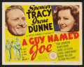 "Movie Posters:War, A Guy Named Joe (MGM, 1944). Title Lobby Card and Lobby Card (11"" X14""). War.. ... (Total: 2 Items)"