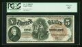 Large Size:Legal Tender Notes, Fr. 72 $5 1880 Legal Tender PCGS About New 53....