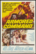 "Movie Posters:War, Armored Command Lot (Allied Artists, 1961). One Sheets (2) (27"" X41""). War.. ... (Total: 2 Items)"