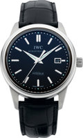 Timepieces:Wristwatch, IWC Vintage Collection Ingenieur Ref. 3233 Stainless Wristwatch,circa 2008. ...