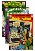 Silver Age (1956-1969):Superhero, Challengers of the Unknown/Doom Patrol Group (DC, 1964-71).... (Total: 20 )