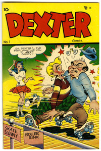Dexter Comics #1 Mile High pedigree (Dearfield, 1948) Condition: NM-