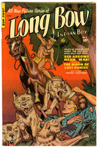 Long Bow #3 Mile High pedigree (Fiction House, 1951) Condition: NM