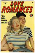 Golden Age (1938-1955):Romance, Love Romances #8 Mile High pedigree (Marvel, 1949) Condition:NM+....