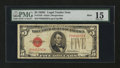 Small Size:Legal Tender Notes, Fr. 1528 $5 1928C Mule Legal Tender Note. PMG Choice Fine 15.. ...