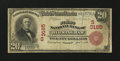 National Bank Notes:Alabama, Birmingham, AL - $20 1902 Red Seal Fr. 639 The First NB Ch. # (S)3185. ...