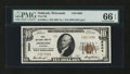 National Bank Notes:Wisconsin, Oshkosh, WI - $10 1929 Ty. 1 First NB Ch. # 6604. ...