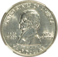 Commemorative Silver, 1925 50C Vancouver--Improperly Cleaned--NGC. Unc Details. Mintage:14,994. (#939...