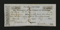 Obsoletes By State:Arkansas, Mississippi County, AR- Swamp Land Scrip $25 June 23, 1856 Rothert UNL. ...