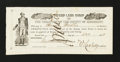 Obsoletes By State:Arkansas, Mississippi County, AR- Swamp Land Scrip $25 Dec. 8, 1858 Rothert UNL. ...