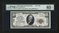 National Bank Notes:Pennsylvania, Zelienople, PA - $10 1929 Ty. 2 The Peoples NB Ch. # 7409. ...