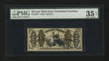 Fractional Currency:Third Issue, Fr. 1362 50¢ Third Issue Justice PMG Choice Very Fine 35 EPQ....