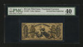 Fractional Currency:Third Issue, Fr. 1357 50¢ Third Issue Justice Inverted Back Engraving PMG Extremely Fine 40....