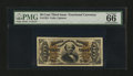 Fractional Currency:Third Issue, Fr. 1324 50¢ Third Issue Spinner PMG Gem Uncirculated 66 EPQ....