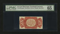 Fractional Currency:Third Issue, Fr. 1291SP 25¢ Third Issue Narrow Margin Face PMG Gem Uncirculated 65 EPQ....