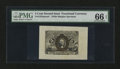 Fractional Currency:Second Issue, Fr. 1232SP 5¢ Second Issue Wide Margin Face PMG Gem Uncirculated 66 EPQ....
