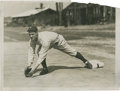 Baseball Collectibles:Photos, 1928 Lou Gehrig Wire Photograph....